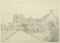 Southwell, Residentiary's house f.170